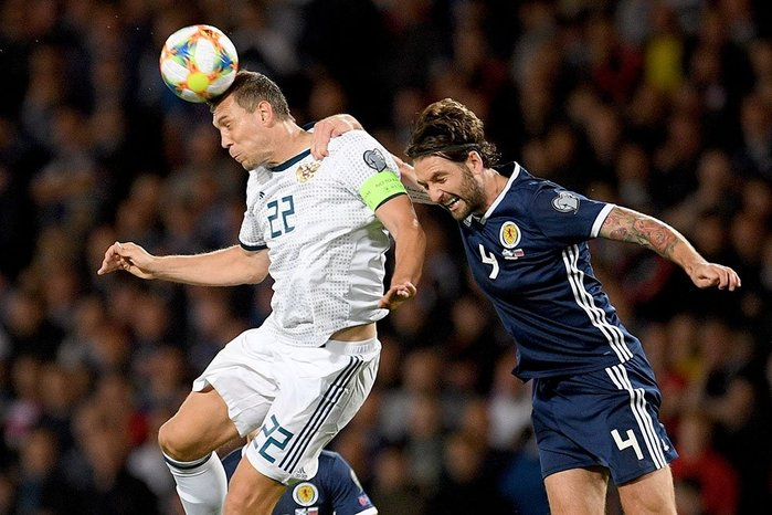 Прогноз на матч Россия - Шотландия